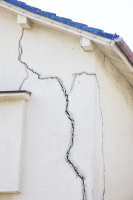 Fissures murs maison ancienne